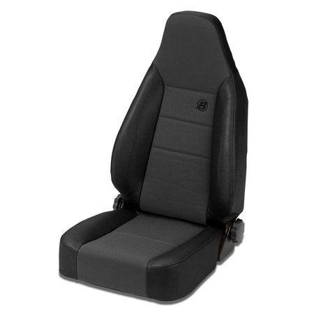 Bestop Trailmax Ii Sport Recliner Seat Black Jeep Interiors