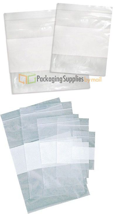 """500 2/""""x3/"""" ZIPLOCK BAGS Clear Small POLY BAGS RECLOSABLE Plastic Baggies 2MIL LOT"""