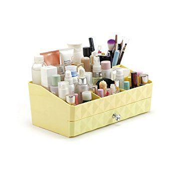 Glamourebox Clear Cosmetic Cube Storage Organizer Case 7 Etsy In 2020 Makeup Storage Organization Makeup Organization Cube Organizer
