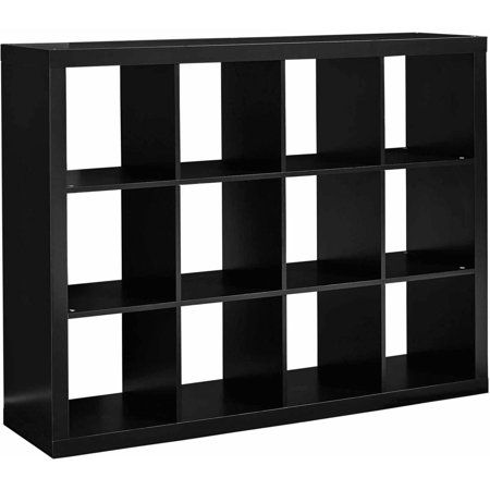 Better Homes And Gardens 12 Cube Storage Organizer Multiple Colors Walmart Com Bookcase Organization Cube Storage Cube Organizer