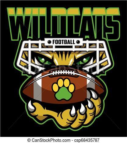 Wildcats Football Svg Files - Football Svg - Wildcat Svg - Football Cl –  SOFVINTAJE
