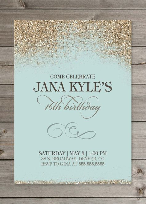 STARRY NIGHT Holiday Party Invitation, Save-the-Date, or New Yearu0027s - best of birthday invitation text message