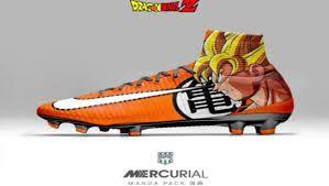 Llegaron los Nike Mercurial inspirados en 'Dragon Ball Z'; y