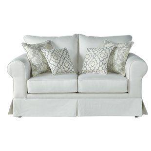Off White Loveseat Wayfair Sofa Upholstery Loveseat Sofa