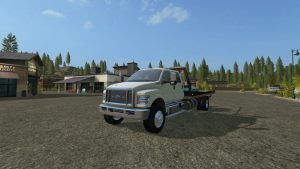 FS17 Ford F-650 rollbed Mod Edit Release » LAMBO MODS