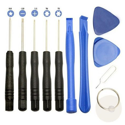 Mobile Cell Phone Repair Opening Pry Tools Tournevis Set Kit