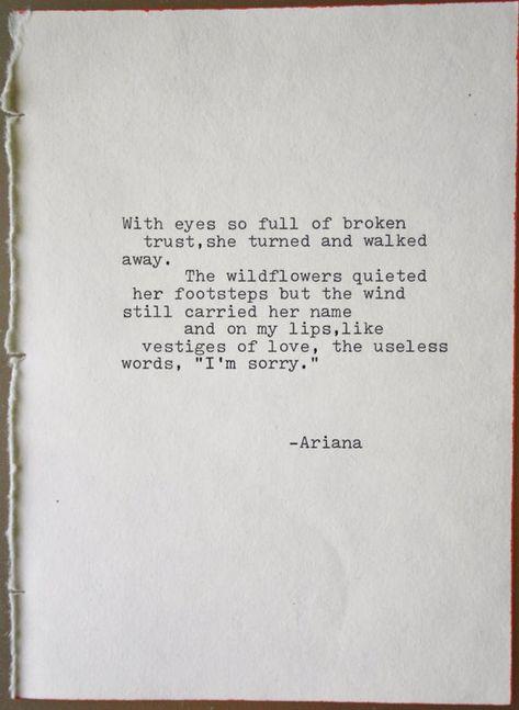 Poem original poetry love poem typrography typographic art | Etsy