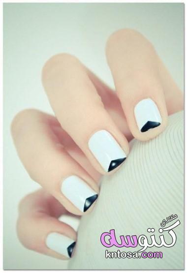 ألوان المناكير الموضه مناكير أكريليك باللون الأبيض طلاء الأظافر المناكير الأبيض صور مناكير عروس2020 Kntos Trendy Nails French Manicure Nails White Nail Designs