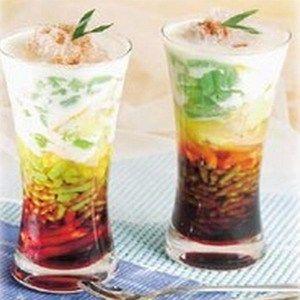 Cara Membuat Cendol Tepung Beras Indonesian Desserts Indonesian Food Asian Desserts