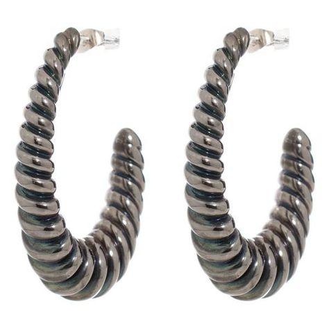 Ladies'Earrings Folli Follie 1E8S056 (75 mm)