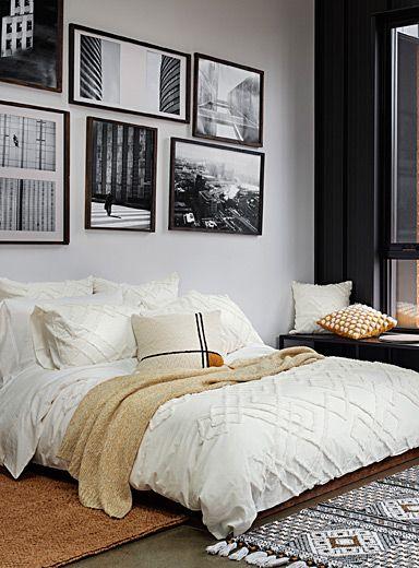 Chenille Embroidery Duvet Cover Set Duvet Cover Sets Duvet Covers New Room