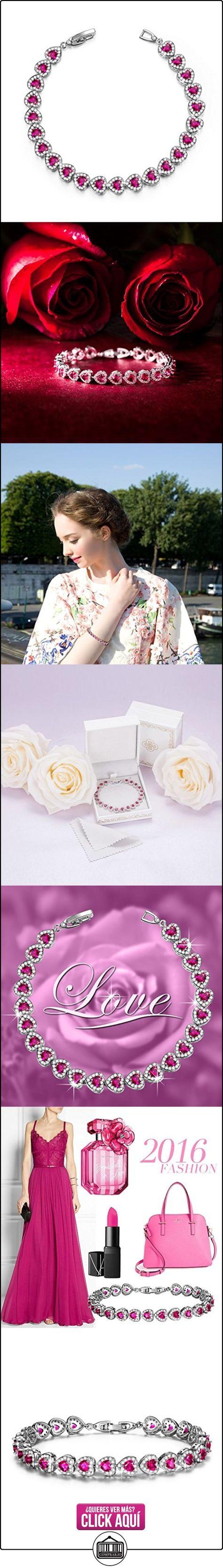 37cfb2ce0aeb Pauline   Morgen Amor estrellado Pulsera Mujer rojo Joyeria regalos  cumpleanos regalos de navidad regalo dia de la madre regalos san valentin  aniversario ...