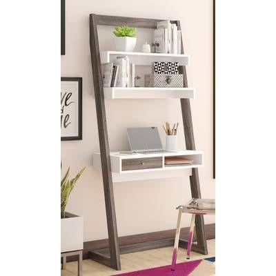 Syrna Ladder Desk Ladder Desk Leaning Desk Leaning Ladder Desk
