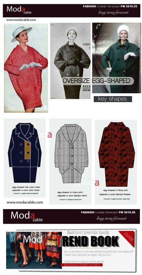 FW 2019.20 egg-shaped coat