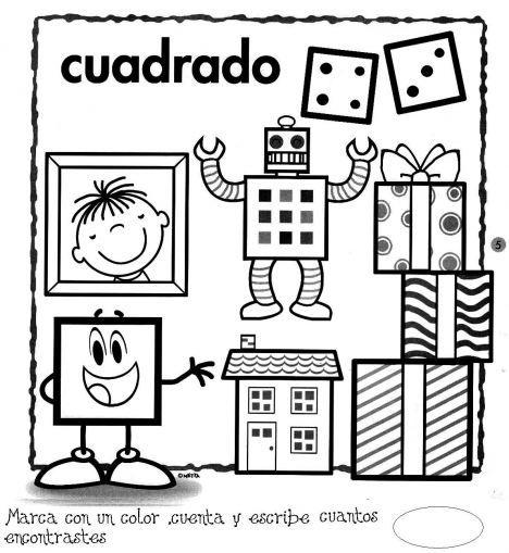 Menta Mas Chocolate Recursos Y Actividades Para Educacion Infantil Actividades De Figuras Geometricas Figuras Geometricas Para Preescolar Figuras Geometricas