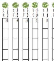 photograph relating to Geocache Log Strips Printable called Geocaching 12 Label Sheet Image: This Image was uploaded by means of