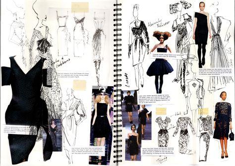 Sketchbook drawings, fashion portfolio layout, fashion design sketchbook, f