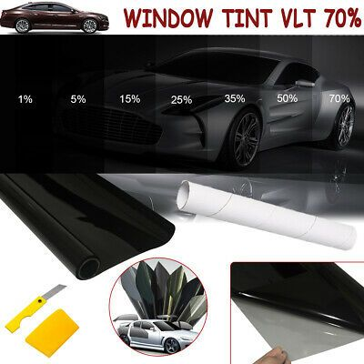 Ad Ebay 700 76cm Black Glass Window Tint Shade Film Vlt 70 Auto