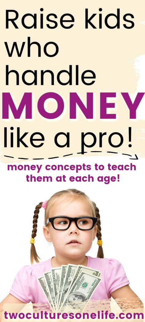Money Lesson for Kids: Ideas for Each Age