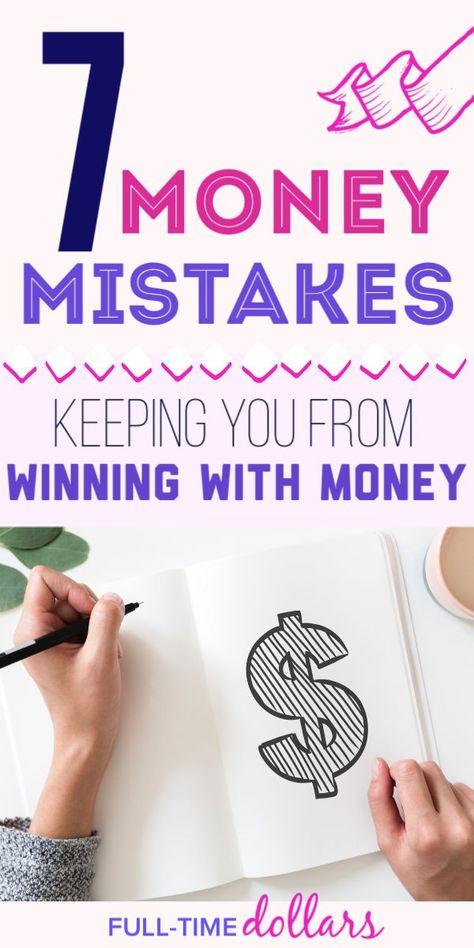 Top 7 Money Mistakes To Avoid: Start Winning With Money
