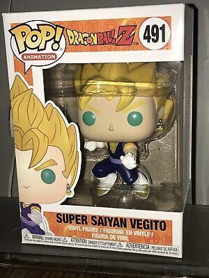 AAA Anime Exclusive Dragon Ball Z Super Saiyan Vegito Pop Vinyl Figure