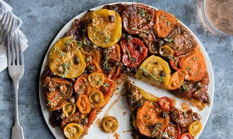 Anna Jones Recipes For Two Summer Vegetable Tarts Recipe Vegetable Tart Vegetable Tart Recipes Anna Jones Recipes