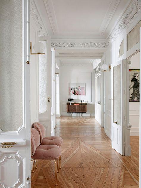 Home Decor Apartment .Home Decor Apartment Parisian Apartment, Dream Apartment, Paris Apartment Interiors, Parisian Bedroom, Bedroom Country, Paris Apartments, Cozy Bedroom, Home Living, Living Spaces