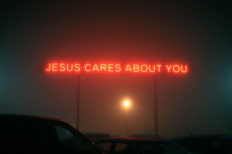 Jesus cares about you neon words Jesus Is Life, My Jesus, Jesus Loves You, Jesus Christ, Savior, Jesus Today, Jesus Wallpaper, Christian Wallpaper, Mall Of America