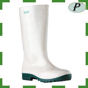Botas De Agua Con Puntera Blanca Verde Botas De Agua Botas Calzas