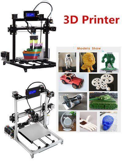 FLSUN Prusa i3 3d Printer Extruder Kits Auto-leveling Heated Bed