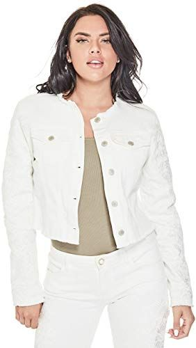 GUESS Womens Long Sleeve Rae Bomber