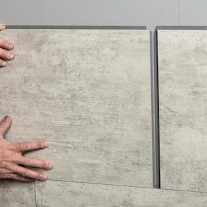 Dumawall Dumawall 25 26 In X 1 23 Ft Smooth Dusky Shale Wall Panel Lowes Com Wall Paneling Vinyl Wall Tiles Shower Kits