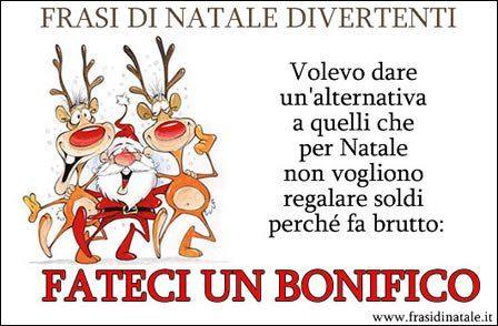 Frasi Di Natale Divertenti Natale Divertente Divertente E