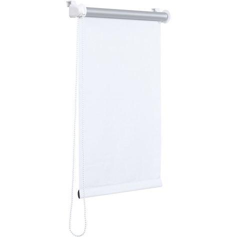 Store A Enrouleur 160 X 175 Cm Blanc Protection Solaire