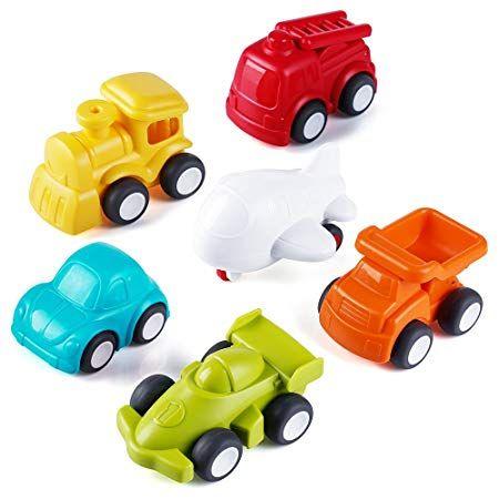 Toddler Toys Vehicles Vatos 6 Pack Toy Car Free Wheel City