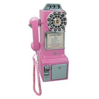 Crosley 1950s Payphone Kohls In 2021 Pay Phone Phone Wall Phone