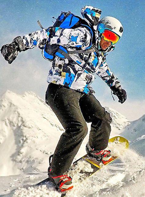Wild Snow Men S Ski Jacket With Pants Windproof Waterproof Warm Ski Snowboard Winter Sports Clothing Suit Ski Wear Breathable Breathab Winter Sports Sport Outfits Womens Snowboard Jacket
