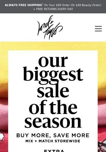 Hurry Extra 40 Off Sitewide Starts Now See The Latest Deals And Offers From Lord Taylor Got Mailed Has All Their New Arrivals Sales Discounts And C In 2020