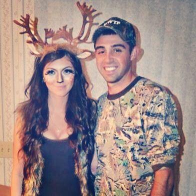 Deer and hunter couple costume | Halloween costume ideas ...