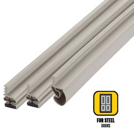 M D 6 75 Ft Beige Vinyl Door Weatherstrip Weatherstripping Door Weather Stripping Vinyl Doors