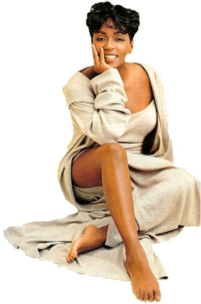 The legendary Ms Anita Baker.