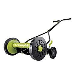 Sun Joe Mj503m 14 Inch Quad Wheel 9 Position Manual Reel Mower Reel Mower Reel Lawn Mower Sun Joe