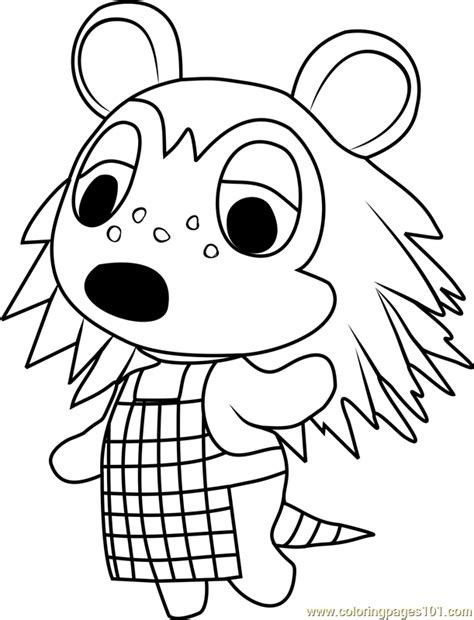 Animal Crossing Free Colouring Page Creation Coloring Pages Animal Coloring Pages Animal Coloring Books
