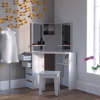 Small Corner Dressing Table Designs Ideas For Modern Bedroom