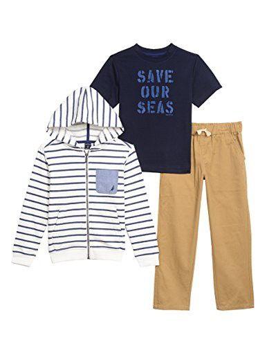 Nautica Sets Baby Boys Shortall Set