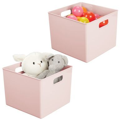 Plastic Home Storage Bin For Furniture Storage 10 X 10 X 8 Cube Furniture Toy Rooms Plastic Box Storage