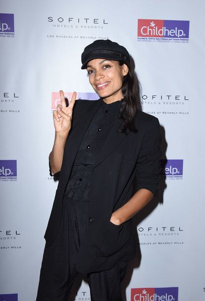 Rosario Dawson attends the Childhelp Hollywood Heroes benefit.