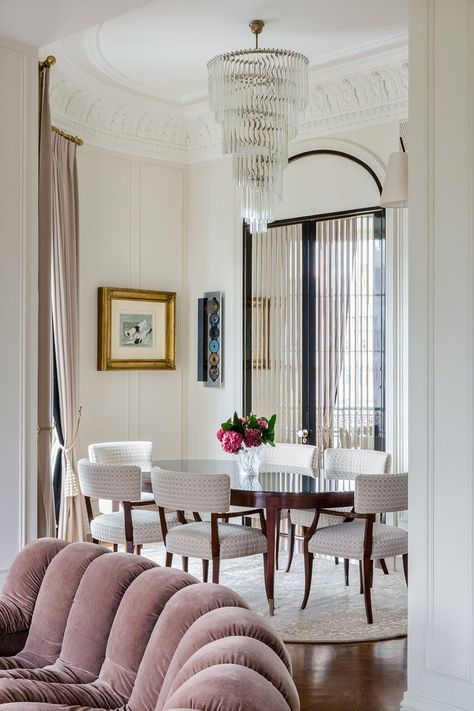 classic and modern style blended in this luxury apartment in moscow rh pinterest com