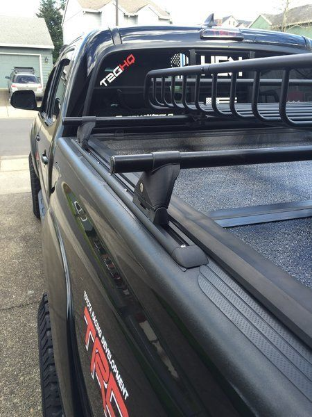 2016 Dcsb Bed Rack That Allows Trifold Tanou Cover Tacoma Truck Toyota Tacoma Accessories Tundra Truck