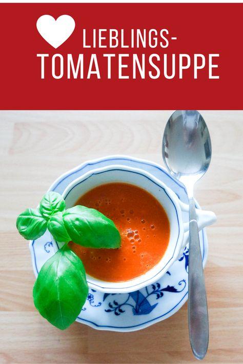 Tomatensuppe Brigitte tomatensuppe herstellen rezept tomatensuppe 20er und essen